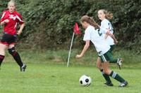 7058 Girls JV Soccer v Orting 092710