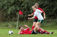 7142 Girls JV Soccer v Orting 092710