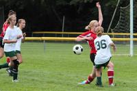 7154 Girls JV Soccer v Orting 092710