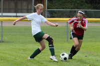 7159 Girls JV Soccer v Orting 092710