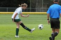 7164 Girls JV Soccer v Orting 092710