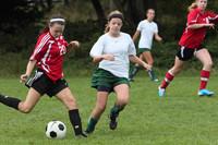 7187 Girls JV Soccer v Orting 092710