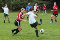 7204 Girls JV Soccer v Orting 092710