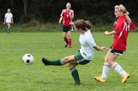 7222 Girls JV Soccer v Orting 092710
