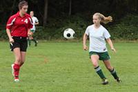 7265 Girls JV Soccer v Orting 092710