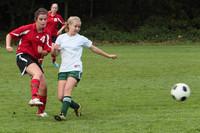 7270 Girls JV Soccer v Orting 092710