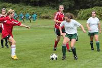 7299 Girls JV Soccer v Orting 092710