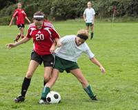 7318 Girls JV Soccer v Orting 092710