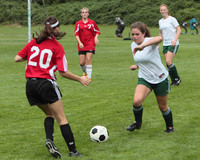 7326 Girls JV Soccer v Orting 092710