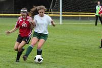 7383 Girls JV Soccer v Orting 092710