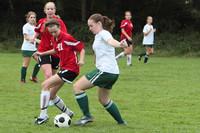 7388 Girls JV Soccer v Orting 092710