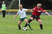 7417 Girls JV Soccer v Orting 092710