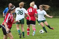7447 Girls JV Soccer v Orting 092710