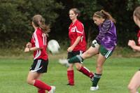 7482 Girls JV Soccer v Orting 092710