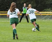 7524 Girls JV Soccer v Orting 092710