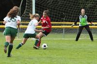 7530 Girls JV Soccer v Orting 092710