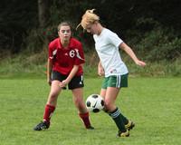 7566 Girls JV Soccer v Orting 092710