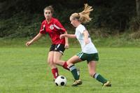 7568 Girls JV Soccer v Orting 092710