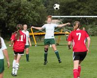 7598 Girls JV Soccer v Orting 092710