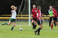 7621 Girls JV Soccer v Orting 092710