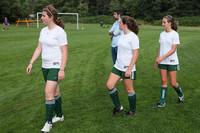 7631 Girls JV Soccer v Orting 092710