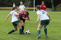 7637 Girls JV Soccer v Orting 092710