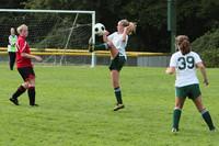 7658 Girls JV Soccer v Orting 092710
