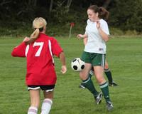 7662 Girls JV Soccer v Orting 092710