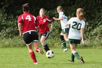 7695 Girls JV Soccer v Orting 092710
