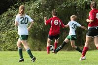 7700 Girls JV Soccer v Orting 092710