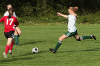 7717 Girls JV Soccer v Orting 092710