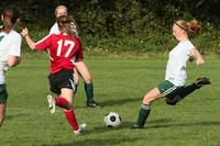 7718 Girls JV Soccer v Orting 092710