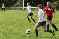 7722 Girls JV Soccer v Orting 092710