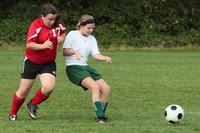 7775 Girls JV Soccer v Orting 092710