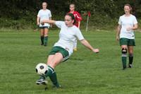 7776 Girls JV Soccer v Orting 092710