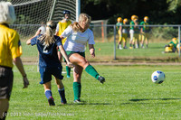 4472 Girls JV Soccer v Cedar Park 090412