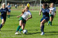 4502 Girls JV Soccer v Cedar Park 090412