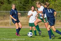4991 Girls JV Soccer v Cedar Park 090412