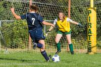 4999 Girls JV Soccer v Cedar Park 090412