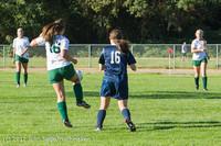 5044 Girls JV Soccer v Cedar Park 090412