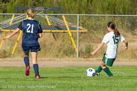 5084 Girls JV Soccer v Cedar Park 090412