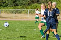 5131 Girls JV Soccer v Cedar Park 090412