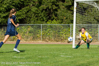5187 Girls JV Soccer v Cedar Park 090412