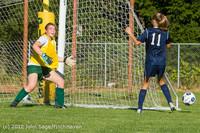 5203 Girls JV Soccer v Cedar Park 090412