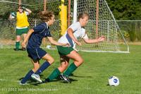5213 Girls JV Soccer v Cedar Park 090412
