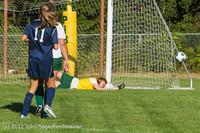 5261 Girls JV Soccer v Cedar Park 090412