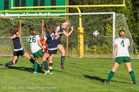 5399 Girls Varsity Soccer v Cedar Park 090412