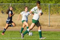 5631 Girls Varsity Soccer v Cedar Park 090412
