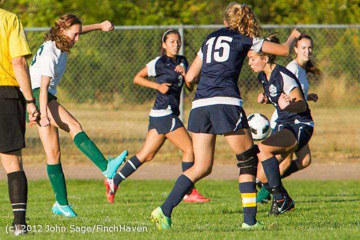5666 Girls Varsity Soccer v Cedar Park 090412