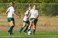 5782 Girls Varsity Soccer v Cedar Park 090412